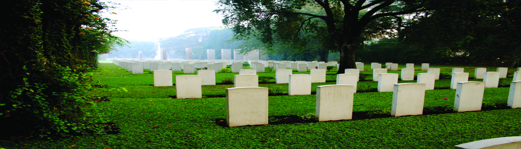 picture of headstones in a cemetery